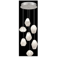 Fine Art Lamps 852640-13LD Natural Inspirations LED 7 Light 14 inch Silver Pendant Ceiling Light