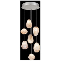 Fine Art Lamps 852640-14LD Natural Inspirations LED 7 Light 14 inch Silver Pendant Ceiling Light