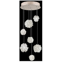 Fine Art Lamps 852640-205LD Natural Inspirations 7 Light 14 inch Gold Pendant Ceiling Light