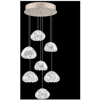 Fine Art Lamps 852640-207LD Natural Inspirations 7 Light 14 inch Gold Pendant Ceiling Light
