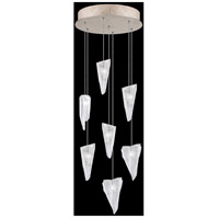 Fine Art Lamps 852640-208LD Natural Inspirations 7 Light 14 inch Gold Pendant Ceiling Light