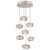 Fine Art Lamps 852640-21ST Natural Inspirations 7 Light 14 inch Gold Pendant Ceiling Light