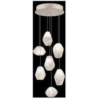 Fine Art Lamps 852640-23LD Natural Inspirations 7 Light 14 inch Gold Pendant Ceiling Light