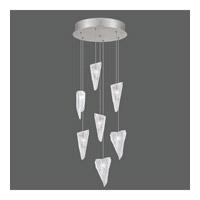 Fine Art Lamps 852640-107ST Natural Inspirations 7 Light 14 inch Silver Drop Light Ceiling Light