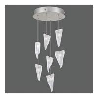 Fine Art Lamps 852640-108ST Natural Inspirations 7 Light 14 inch Silver Drop Light Ceiling Light