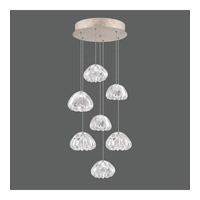 Fine Art Lamps 852640-207ST Natural Inspirations 7 Light 14 inch Gold Drop Light Ceiling Light