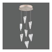 Fine Art Lamps 852640-208ST Natural Inspirations 7 Light 14 inch Gold Pendant Ceiling Light