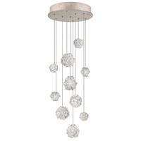 Fine Art Lamps 852840-205ST Natural Inspirations 10 Light 17 inch Gold Pendant Ceiling Light
