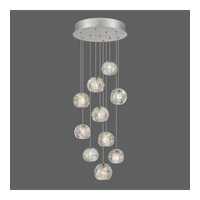 Natural Inspirations 10 Light 17 inch Silver Drop Light Ceiling Light