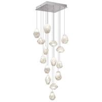 Fine Art Lamps 853040-13ST Natural Inspirations 15 Light 19 inch Silver Drop Light Ceiling Light