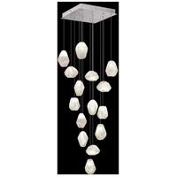 Fine Art Lamps 853040-13LD Natural Inspirations 15 Light 19 inch Silver Pendant Ceiling Light