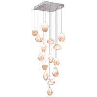 Fine Art Lamps 853040-14ST Natural Inspirations 15 Light 19 inch Silver Drop Light Ceiling Light