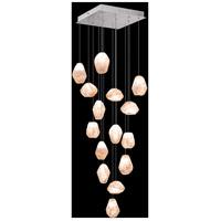 Fine Art Lamps 853040-14LD Natural Inspirations 15 Light 19 inch Silver Pendant Ceiling Light