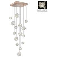 Fine Art Lamps 853040-202ST Natural Inspirations 15 Light 19 inch Gold Drop Light Ceiling Light