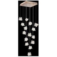 Fine Art Lamps 853040-202LD Natural Inspirations 15 Light 19 inch Gold Pendant Ceiling Light