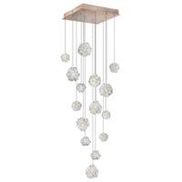 Fine Art Lamps 853040-205ST Natural Inspirations 15 Light 19 inch Gold Pendant Ceiling Light