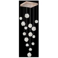Fine Art Lamps 853040-205LD Natural Inspirations 15 Light 19 inch Gold Pendant Ceiling Light