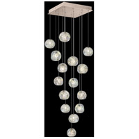 Fine Art Lamps 853040-206LD Natural Inspirations 15 Light 19 inch Gold Pendant Ceiling Light