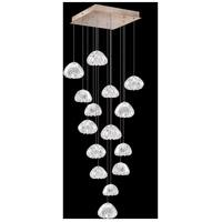 Fine Art Lamps 853040-207LD Natural Inspirations 15 Light 19 inch Gold Pendant Ceiling Light