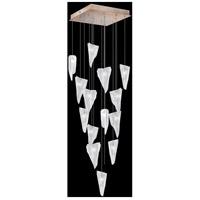 Fine Art Lamps 853040-208LD Natural Inspirations 15 Light 19 inch Gold Pendant Ceiling Light