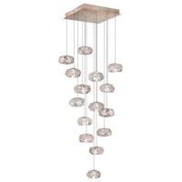Fine Art Lamps 853040-21ST Natural Inspirations 15 Light 19 inch Gold Drop Light Ceiling Light