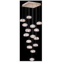 Fine Art Lamps 853040-21LD Natural Inspirations 15 Light 19 inch Gold Pendant Ceiling Light