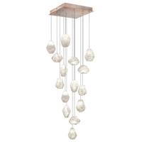 Fine Art Lamps 853040-23ST Natural Inspirations 15 Light 19 inch Gold Drop Light Ceiling Light