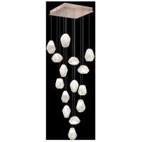 Fine Art Lamps 853040-23LD Natural Inspirations 15 Light 19 inch Gold Pendant Ceiling Light