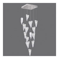 Fine Art Lamps 853040-108ST Natural Inspirations 15 Light 19 inch Silver Drop Light Ceiling Light