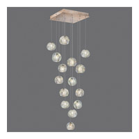Fine Art Lamps 853040-206ST Natural Inspirations 15 Light 19 inch Gold Drop Light Ceiling Light