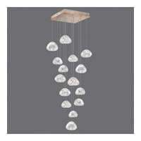 Natural Inspirations 15 Light 19 inch Gold Drop Light Ceiling Light