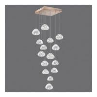 Fine Art Lamps 853040-207ST Natural Inspirations 15 Light 19 inch Gold Drop Light Ceiling Light