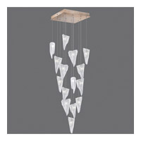 Fine Art Lamps 853040-208ST Natural Inspirations 15 Light 19 inch Gold Drop Light Ceiling Light