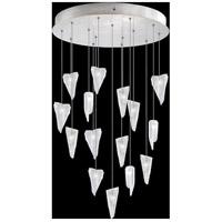 Fine Art Lamps 853140-108LD Natural Inspirations 15 Light 21 inch Silver Pendant Ceiling Light