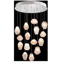 Fine Art Lamps 853140-14LD Natural Inspirations 15 Light 21 inch Silver Pendant Ceiling Light
