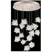 Fine Art Lamps 853140-202LD Natural Inspirations 15 Light 21 inch Gold Pendant Ceiling Light