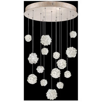 Fine Art Lamps 853140-205LD Natural Inspirations 15 Light 21 inch Gold Pendant Ceiling Light