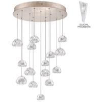 Fine Art Lamps 853140-208ST Natural Inspirations 15 Light 21 inch Gold Pendant Ceiling Light