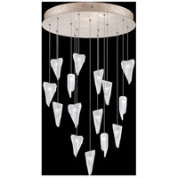 Fine Art Lamps 853140-208LD Natural Inspirations 15 Light 21 inch Gold Pendant Ceiling Light