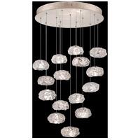 Fine Art Lamps 853140-21LD Natural Inspirations 15 Light 21 inch Gold Pendant Ceiling Light