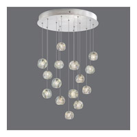 Natural Inspirations 15 Light 21 inch Silver Drop Light Ceiling Light