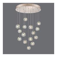 Fine Art Lamps 853140-206ST Natural Inspirations 15 Light 21 inch Gold Drop Light Ceiling Light