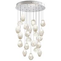 Fine Art Lamps 853240-13ST Natural Inspirations 22 Light 24 inch Silver Drop Light Ceiling Light