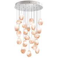 Fine Art Lamps Natural Inspirations 22 Light Drop Light in Silver Leaf 853240-14ST