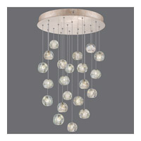 Natural Inspirations 22 Light 24 inch Gold Drop Light Ceiling Light