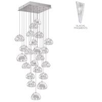 Fine Art Lamps 853340-108ST Natural Inspirations 22 Light 24 inch Silver Pendant Ceiling Light