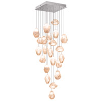 Fine Art Lamps 853340-14ST Natural Inspirations 22 Light 24 inch Silver Pendant Ceiling Light