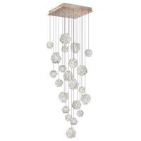Fine Art Lamps 853340-205ST Natural Inspirations 22 Light 24 inch Gold Pendant Ceiling Light