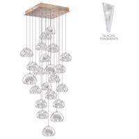 Fine Art Lamps 853340-208ST Natural Inspirations 22 Light 24 inch Gold Pendant Ceiling Light