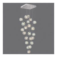 Natural Inspirations 22 Light 24 inch Silver Drop Light Ceiling Light
